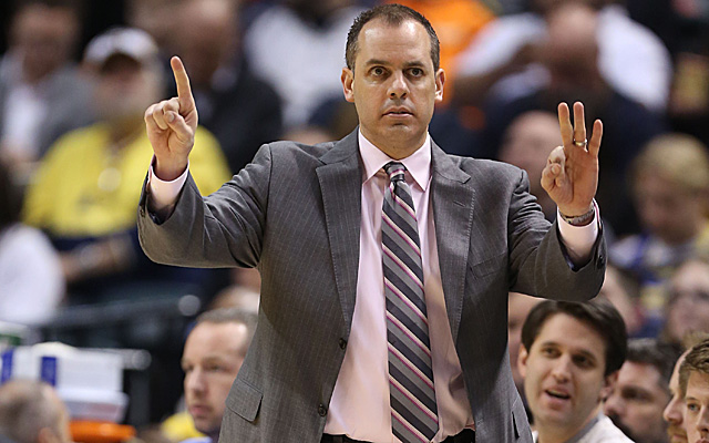 Frank Vogel has a career 160-91 record since taking over for Indiana.