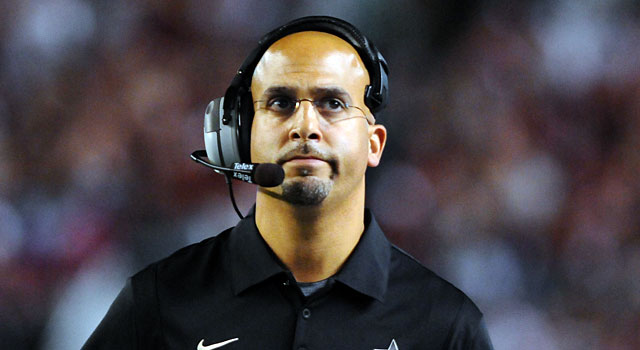 James Franklin told the Vanderbilt AD that he hadn't accepted the Penn State job. (USATSI)