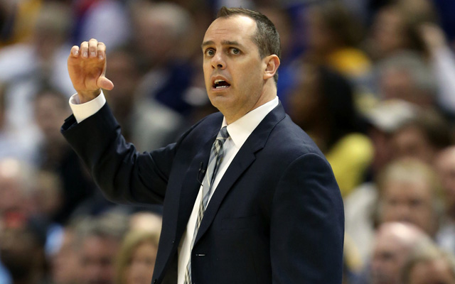 Frank Vogel is reportedly 'coaching for his job.' (USATSI)