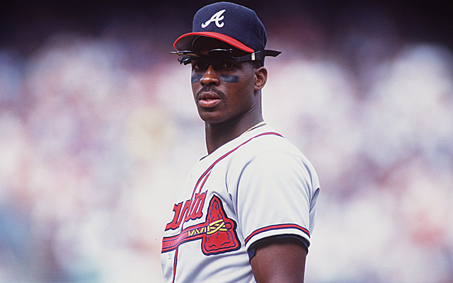 Fred McGriff back in 1994, when the strike may have cost him dearly.