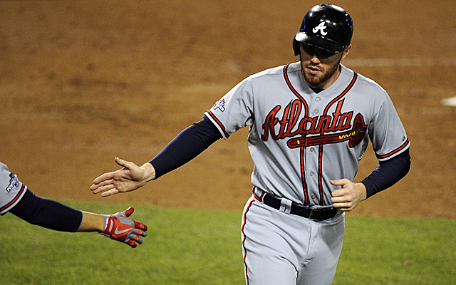 The big news of the day involved Mr. Freddie Freeman.