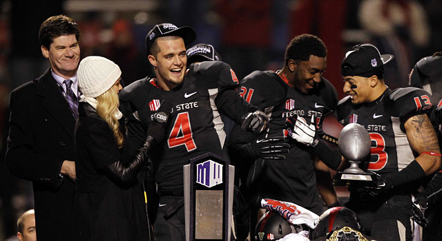 Fresno State hosted last year's Mountain West championship game. (USATSI)