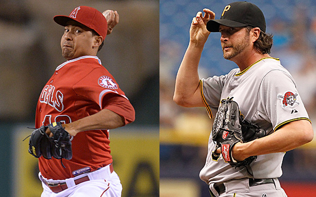 Frieri and Grilli had never met before being traded for each other.