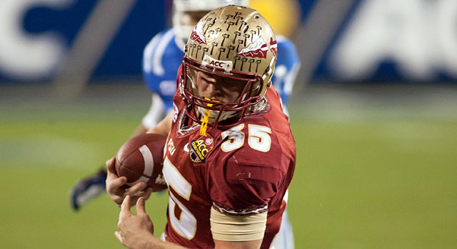Nick O'Leary and Florida State are the favorites to win the ACC again. (USATSI)