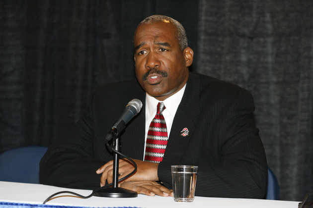 Gene Smith is Ohio State's AD and chair of the NCAA men's basketball Selection Comittee