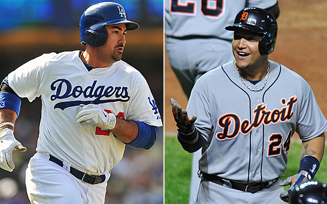 Adrian Gonzalez and Miguel Cabrera have both been traded by Jeffrey Loria's Marlins.