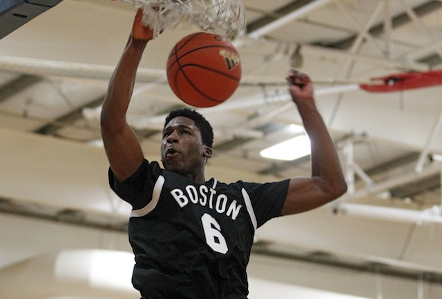 Five-star big man Goodluck Okonoboh is heading to Ohio State and UNLV in a span of five days. (Adidas)
