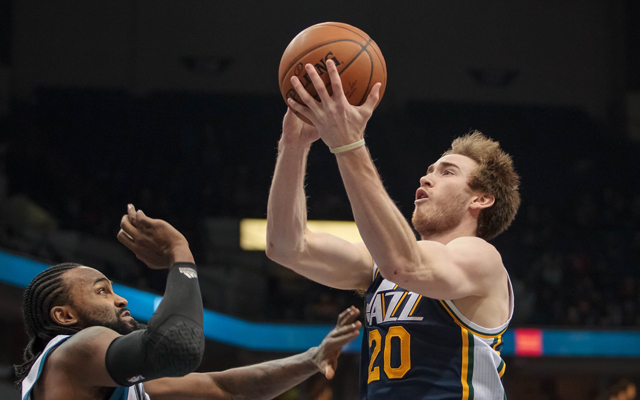 Dallas has dreams of adding Gordon Hayward, reportedly.  (USATSI)