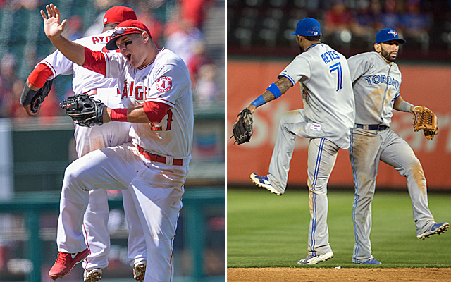 Both the Angels and Blue Jays had some fun this past week.