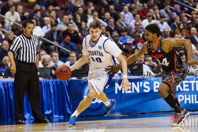 Grant Gibbs adds a different dimension to Creighton's prolific offensive attack. (USATSI)