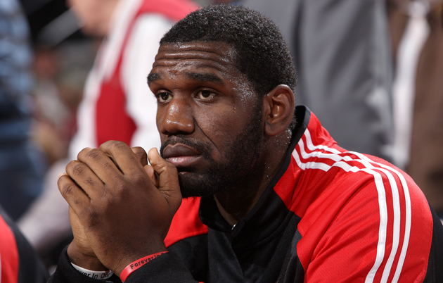 Greg Oden hopes to finish next season on the active roster in Miami.  (USATSI)
