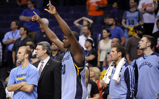 The Grizzlies clinched a playoff spot Monday.  (USATSI)