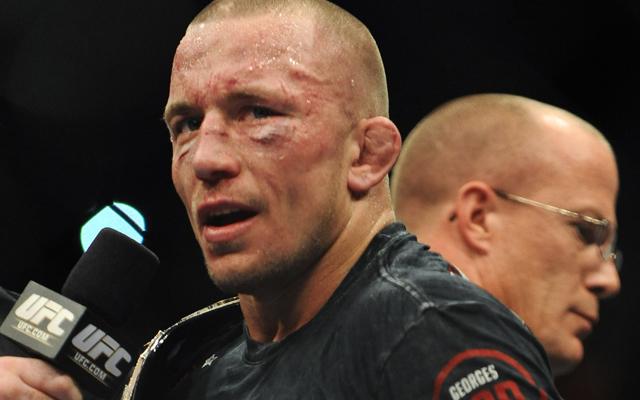 Georges St-Pierre vacates UFC welterweight title