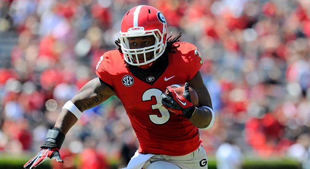 Georgia's Todd Gurley might be the best running back in the nation. (USATSI)