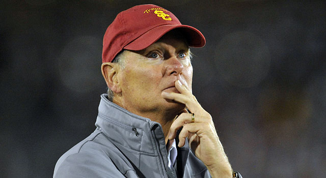 USC AD Pat Haden has a big decision to make. (USATSI)