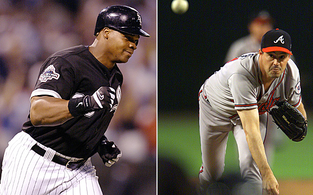 Frank Thomas and Greg Maddux have a shot at being first ballot Hall of Famers.