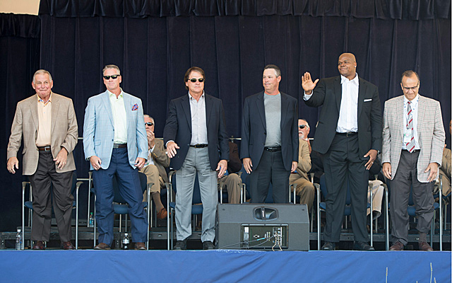 The six-man Hall of Fame class is one of baseball's best ever.