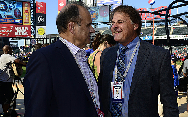 Joe Torre and Tony La Russa are both on the Hall of Fame expansion era ballot this time around.