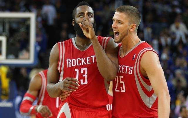 James Harden will miss Chandler Parsons more than he knows.  (USATSI)