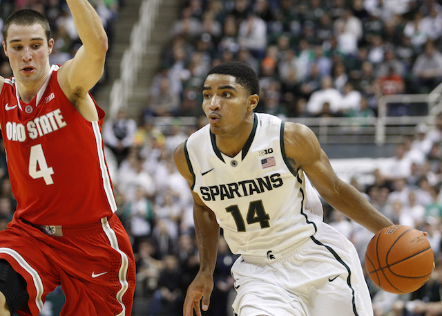 The rematch between Michigan State and Ohio State could determine the Big Ten champion. (USATSI)