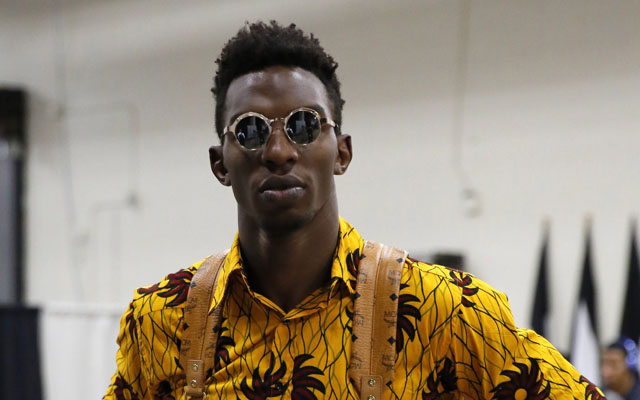 Hasheem Thabeet has been traded to the Sixers.  (USATSI)