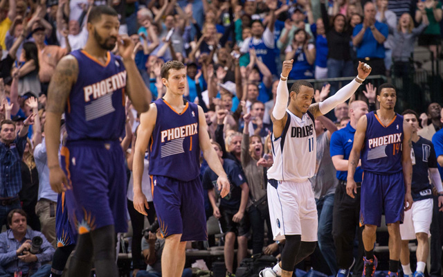 The Mavericks clinched as the Suns suffered a crushing loss Saturday.   (USATSI)