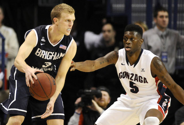 Can Tyler Haws and BYU take down Gary Bell and Gonzaga in the WCC title game? (USATSI)