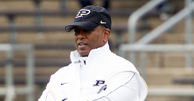 Darrell Hazell returns to the Big Ten as the head coach at Purdue