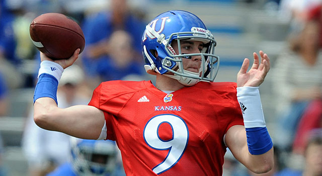 Jake Heaps' Kansas career is officially over. (USATSI)
