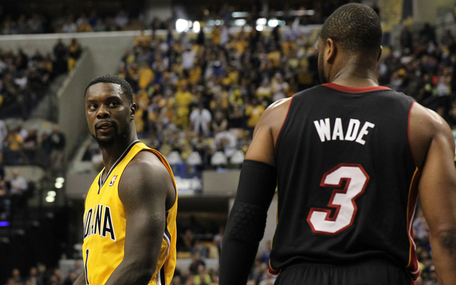 The Heat and Pacers renew their standoff Sunday. (USATSI)