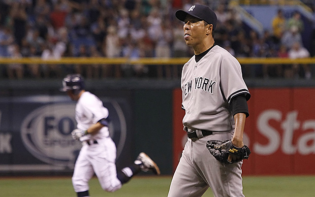 It had been a while prior to Friday that Hiroki Kuroda experienced this.