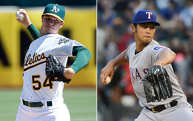 Yu Darvish vs. Sonny Gray