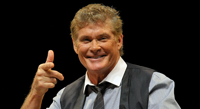 The College Football Playoff needs David Hasselhoff. (Getty)
