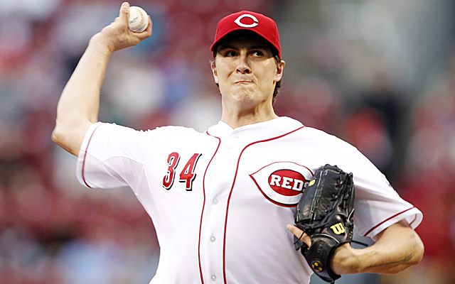 Homer Bailey is going for his second career no-hitter.