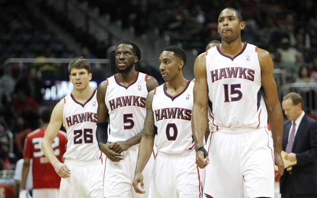 Al Horford returns to the Hawks next season.  (USATSI)