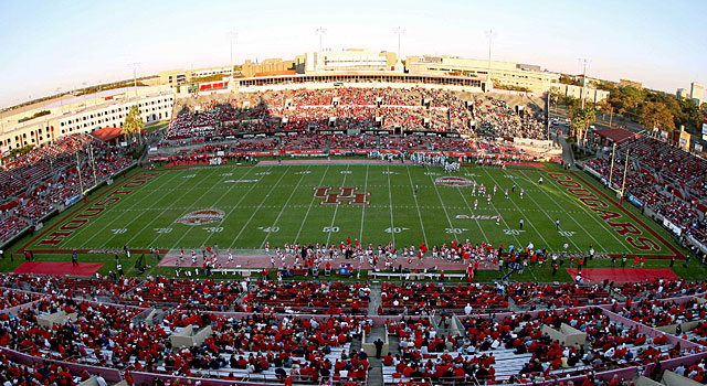 Houston will move from Conference USA to American Athletic Conference this year