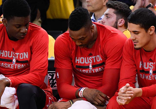 Howard's uncertainty for Game 2 leads to big questions for Rockets