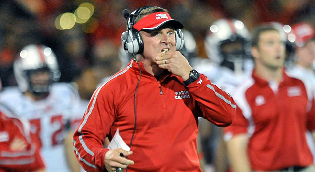 UL-Lafayette's Mark Hudspeth is one of the best coaches in the nation. (USATSI)