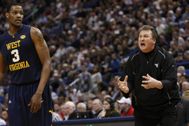 Bob Huggins yelling