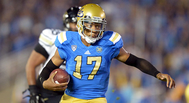 Brett Hundley and UCLA face Virginia and Texas in out-of-conference action. (USATSI)