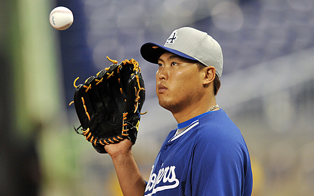 Hyun-Jin Ryu will get back in the Dodgers rotation Wednesday.