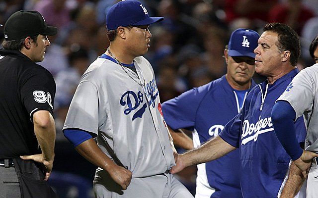 Hyun-Jin Ryu is headed to the disabled list.
