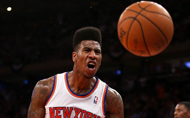Iman Shumpert still has yet to secure the starting two-guard spot.   (USATSI)