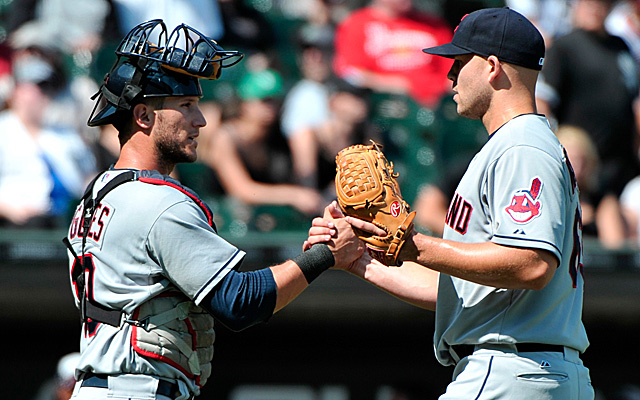 Justin Masterson's shutout helped propel the Indians to an A this weekend.