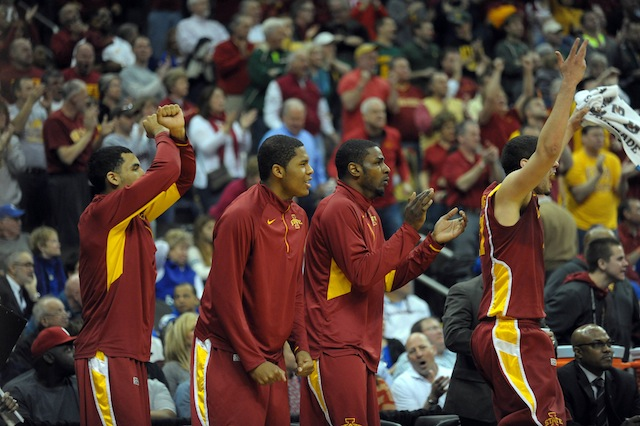 Iowa State's win over Oklahoma was the biggest statement win by a bubble team on Thursday. (USATSI)