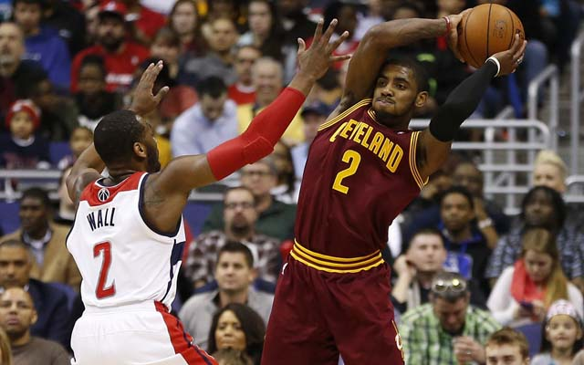 Kyrie Irving and John Wall could be fighting for a Team USA spot.  (USATSI)