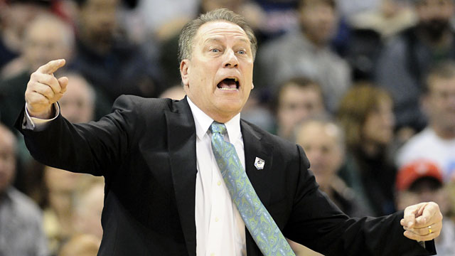Tom Izzo has guided Michigan State to two Sweet 16s and an Elite Eight in the past three seasons. (USATSI)