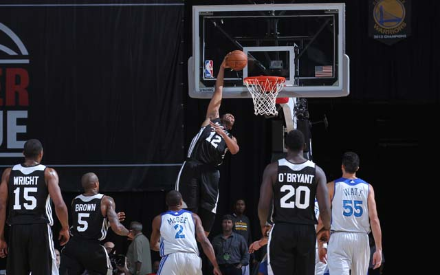 Jabari Parker threw down at  Jabari Parker Bucks Summer League
