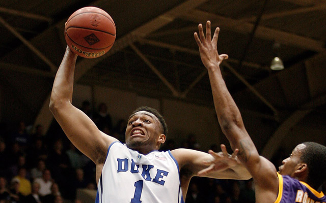 Scouts reportedly think Parker could be back with Duke next year. (USATSI)