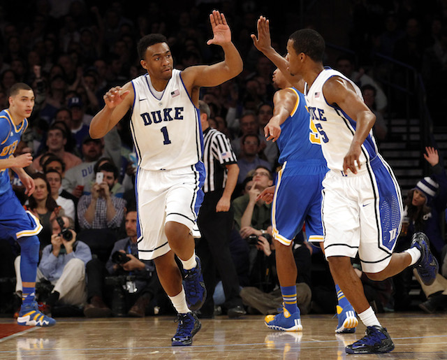 Jabari Parker had 23 points, 10 rebounds and five assists in a win over UCLA. (USATSI)